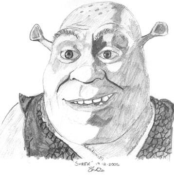 Shrek por Smidge